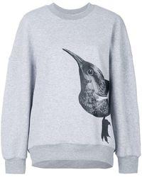 Ioana Ciolacu - Round Neck Bird Sweater - Lyst