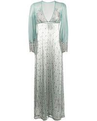 Myla Rosemoor Street ナイトドレス - ブルー
