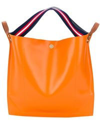 Sacai Contrast Tote - Orange