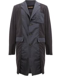 Uma Wang - Single Breasted Coat - Lyst