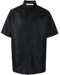 1017 ALYX 9SM Атласная Рубашка - Черный