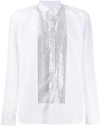 Balmain Crystal-embellished Shirt - White