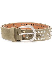 Isabel Marant Studded Belt - Gray