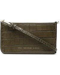 Chylak Crocodile-effect Cross-body Bag - Multicolour