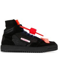 Off-White c/o Virgil Abloh 'Off-Court' High-Top-Sneakers - Schwarz