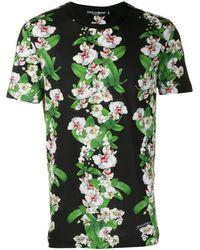 Dolce & Gabbana - フローラル Tシャツ - Lyst