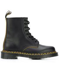 Dr. Martens Lace-up Combat Boots - Black