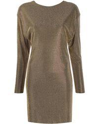Versace - Vestito con decorazione - Lyst