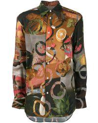 Vivienne Westwood プリント シャツ - グリーン