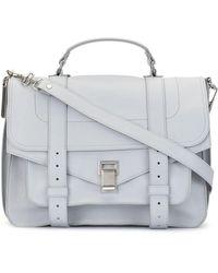 Proenza Schouler Large Ps1 Crossbody Bag - Grey