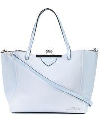Marc Jacobs The Kiss Lock Mini Tote Bag - Blue
