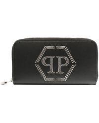 Philipp Plein 長財布 - ブラック