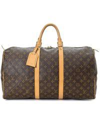 Louis Vuitton Дорожная Сумка Keepall 50 Pre-owned - Коричневый