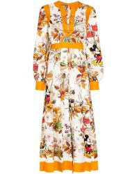 Gucci - フローラル ドレス - Lyst