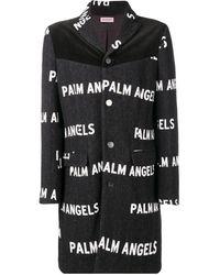 Palm Angels プリント シングルコート - ブラック