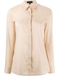 Theory Regular-fit Cotton Shirt - Multicolour
