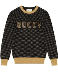 Gucci - Guccy Knit Top - Lyst