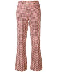 Vivetta - Check Pattern Trousers - Lyst