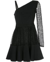 David Koma - Asymmetric Flared Dress - Lyst