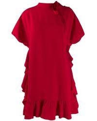 RED Valentino - タイネック シフトドレス - Lyst