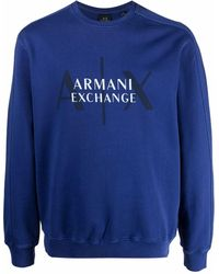 Armani Exchange - ロゴ プルオーバー - Lyst