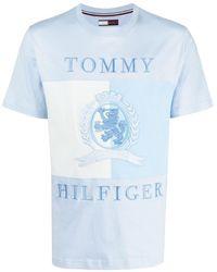 Tommy Hilfiger オーガニックコットン Tシャツ - ブルー