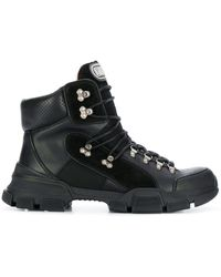 Gucci Flashtrek Ankle Boots - Black