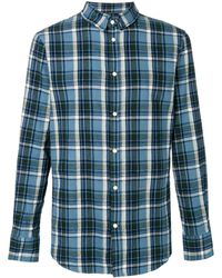 DSquared² - Geruit Poloshirt - Lyst