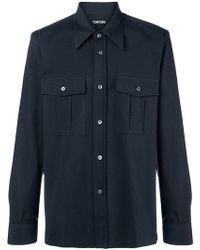 Tom Ford - Plain Longsleeved Shirt - Lyst