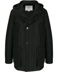 Woolrich パデッド シングルコート - ブラック