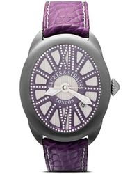 Backes & Strauss Regent Beau Brummell 4047 Horloge - Paars