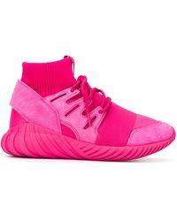 adidas Originals Tubular Doom Primeknit Sneakers - Pink