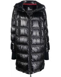 3 MONCLER GRENOBLE Padded Hood Coat - Black