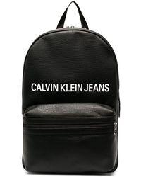 Calvin Klein - Sac à dos à logo imprimé - Lyst