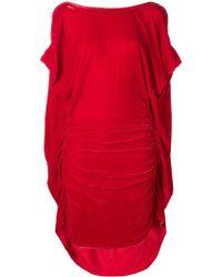 Paula Knorr - Ruched Midi Dress - Lyst