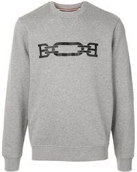 Bally Logo Print Sweatshirt - Gray
