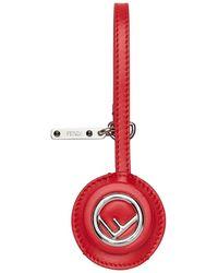Fendi Usb Pen Drive Case - Red