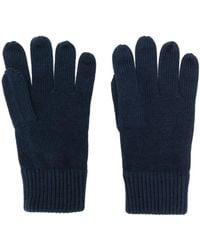 Tommy Hilfiger Knitted Gloves - Blue