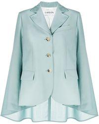 Lanvin シングルジャケット - ブルー