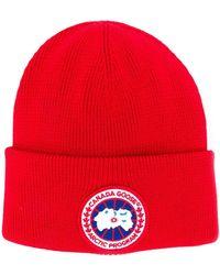 Canada Goose Arctic Disc Toque hat - Rouge