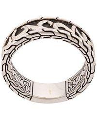 John Hardy 'Classic Chain Keris Dagger' Ring - Mettallic