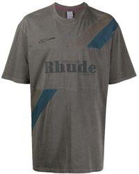 PUMA X Rhude T-shirt Met Vlak - Grijs
