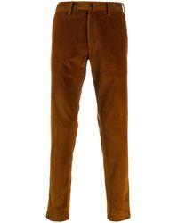 PT01 Pantalones de pana - Marrón
