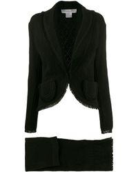 Dior 1997's スカート&ジャケット - ブラック