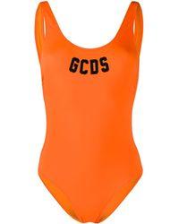 Gcds ロゴ水着 - オレンジ
