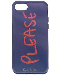 Paul Smith Black Label - Please Iphone 6 Case - Lyst