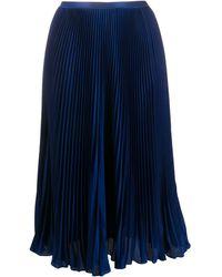Polo Ralph Lauren プリーツスカート - ブルー