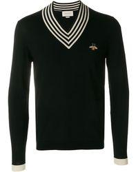 Gucci - Bee Appliqué Sweater - Lyst