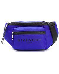 Givenchy Gürteltasche mit zwei Fächern - Blau