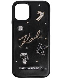 Karl Lagerfeld Karl Iphone 12 Mini ケース - ブラック